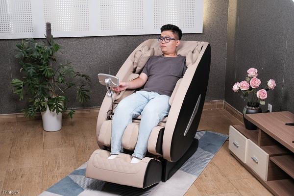 Ngồi ghế mát xa nhiều có tốt không? Tác hại khi sử dụng sai cách
