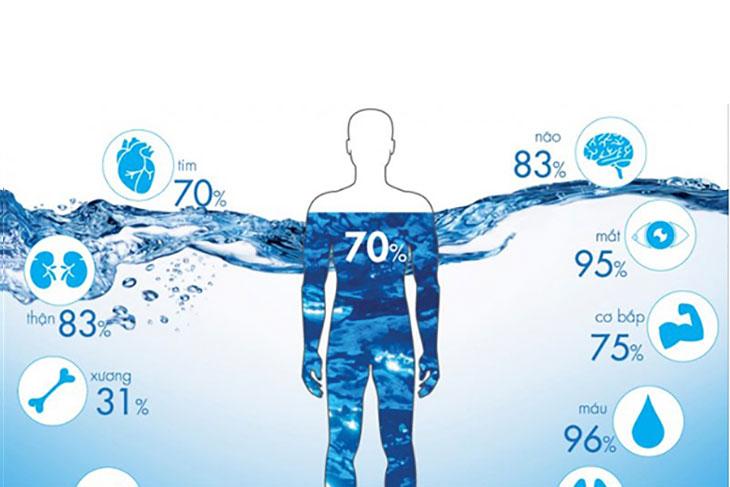 Vai trò của nước sạch đối với sức khỏe con người.