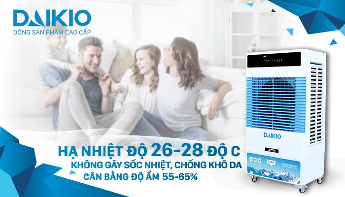 Máy làm mát Daikio - giải pháp chống nóng thần tốc