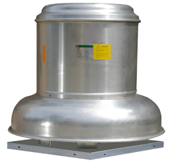 RCD-B series - Roof exhaust centrifugal fan - Belt driven
