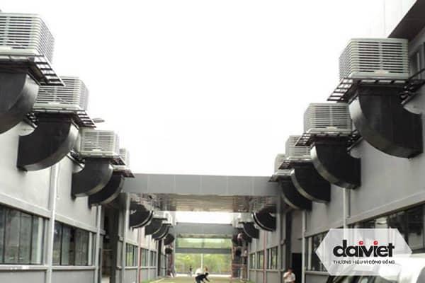 Trúng thầu thi công hệ thống máy làm mát công nghiệp Công ty găng tay Nam Việt