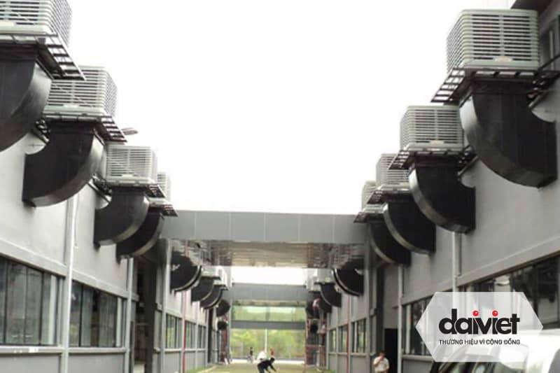 Trúng thầu cung cấp và thi công hệ thống máy làm mát cho công ty TNHH DV & TM may đồng phục Minh Anh