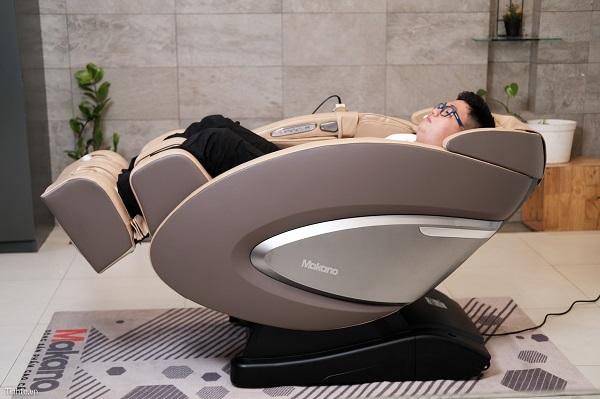 Sử dụng ghế massage giúp loại bỏ 4 căn bệnh tiềm ẩn