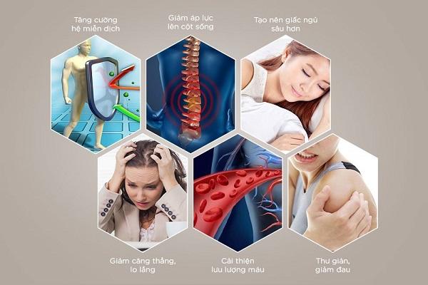 Ghế massage thật sự có chức năng chữa bệnh?