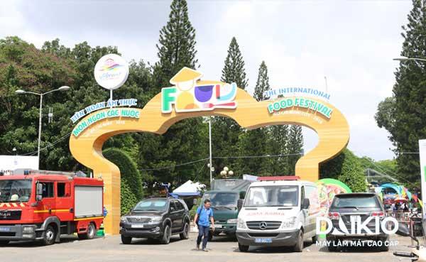 Daikio mang luồng gió mát đến Liên hoan ẩm thực món ngon của 25 nước