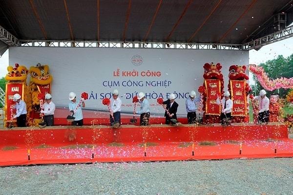 Tập đoàn Đại Việt khẳng định vị thế với việc nhận giấy chứng nhận quyền sử dụng đất ở cụm công nghiệp Hải Sơn - Đức Hoà - Long An