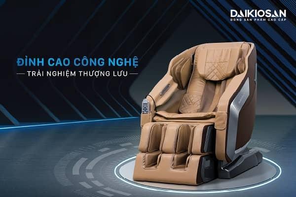 Khám phá thị trường ghế massage toàn thân tại Việt Nam năm 2021