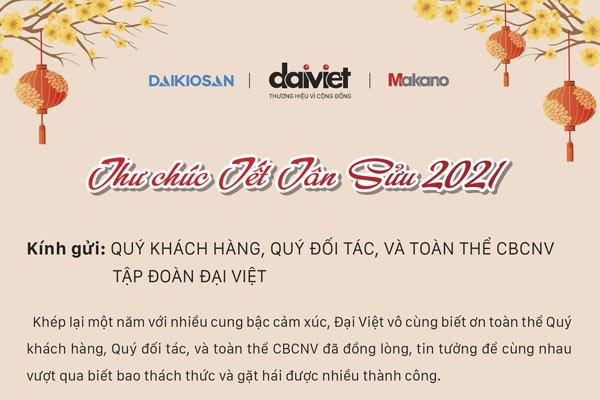 Thư chúc Tết Tân Sửu 2021 từ Tổng Giám đốc Ngô Xuân Mạnh