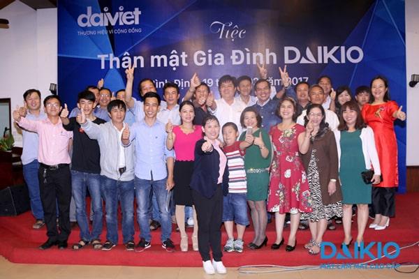 Tiệc thân mật gia đình Daikio - KV Trung Trung Bộ