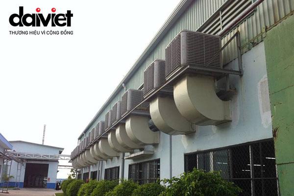 Trúng thầu thi công hệ thống máy làm mát cho công ty Phú Thành Nam