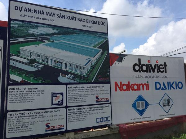 Đại Việt trúng thầu lắp đặt hệ thống máy làm mát cho công ty Kim Đức