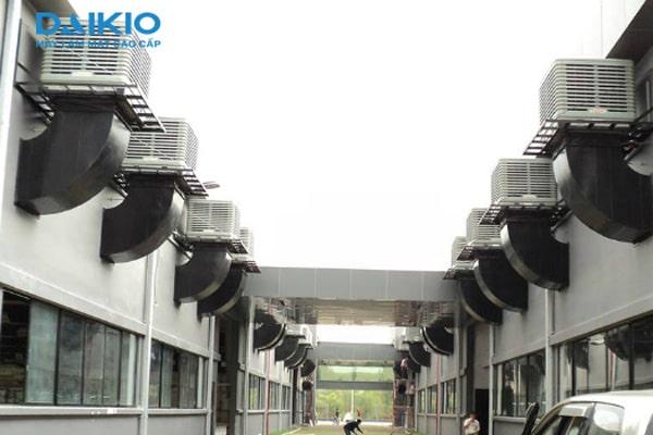 Trúng thầu hệ thống máy làm mát không khí công ty CP Kỹ nghệ xây lắp Thế Kỷ