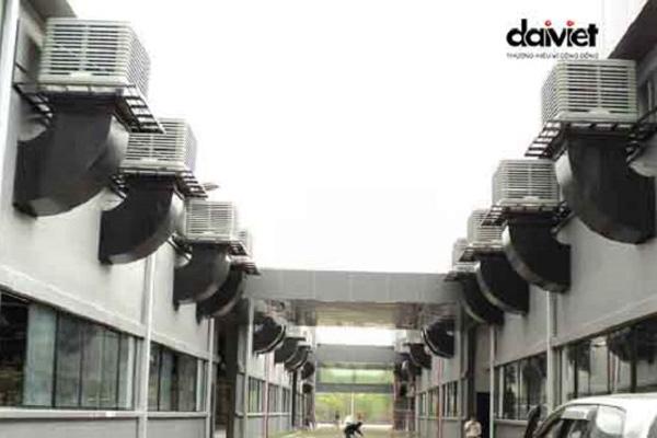 Trúng thầu lắp đặt hệ thống máy làm mát công nghiệp cho CTY Uni-Red Việt Nam