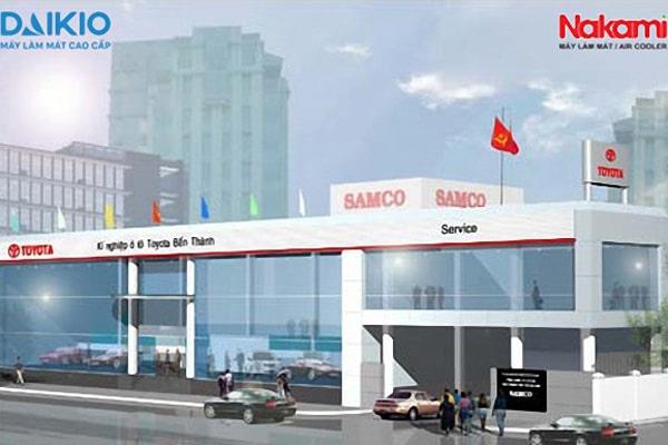 Trúng thầu lần 2 về lắp đặt máy làm mát công nghiệp cho công ty Toyotsu Samco