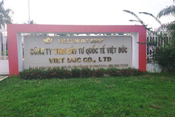 Trúng thầu cung cấp và thi công máy làm mát công nghiệp cho công ty Việt Đức