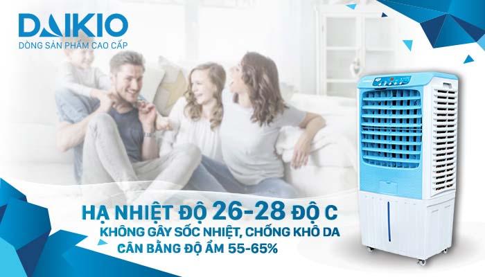 Máy làm mát cao cấp DKA-04000A cân bằng ẩm thông minh