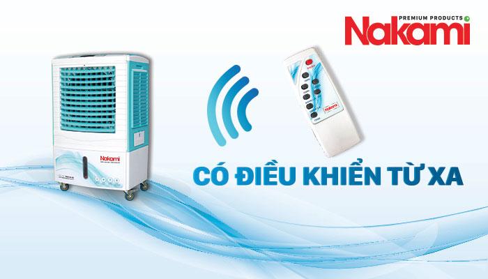 Máy làm mát cao cấp Nakami NKA-05000D điều khiển từ xa dễ dàng