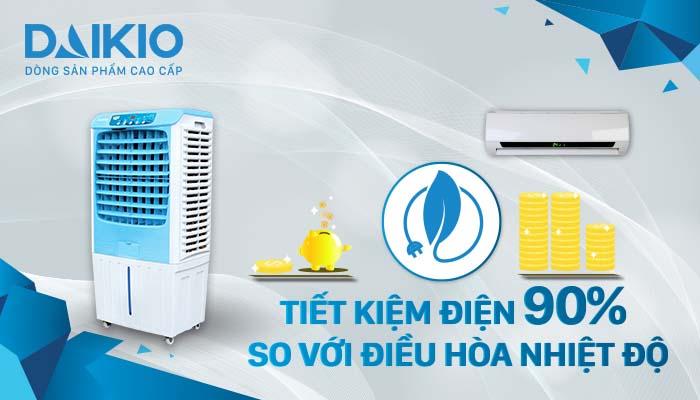 Máy làm mát cao cấp DKA-04000A tiết kiệm đến 90% điện năng