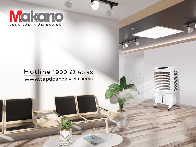 Makano MKA-05500A được sử dụng cho nhiều không gian khác nhau