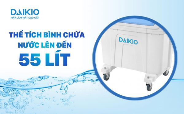 Máy làm mát không khí DAIKIO DK-5000A thể tích chứa