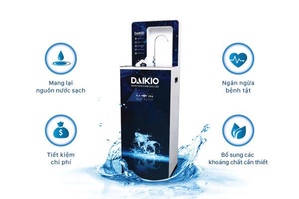 Ưu điểm của máy lọc nước Daikio