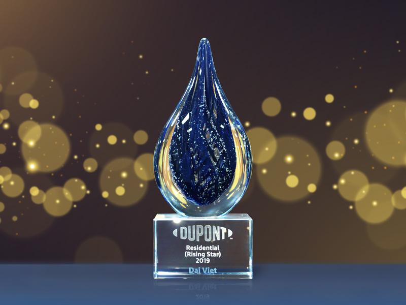 Đại Việt vinh dự nhận giải thưởng Đối tác triển vọng của Dupont