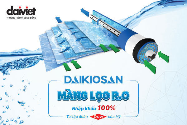 Dịch vụ thay lõi lọc nước tại nhà chính hãng của Daikio