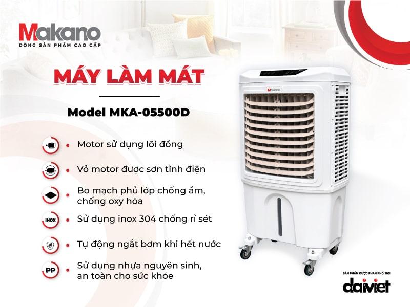ưu điểm máy Makano MKA-05500D