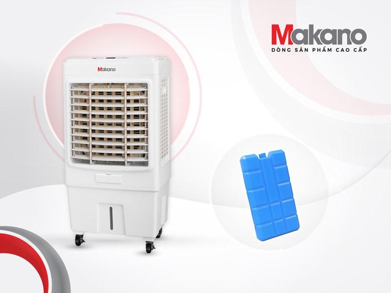 Makano MKA-04000B được trang bị thêm đá khô nhằm tăng hiệu quả làm mát