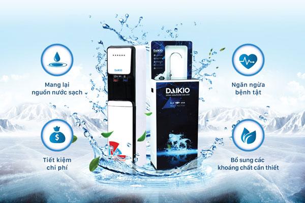 Tầm quan trọng của máy lọc nước Daikio trong gia đình