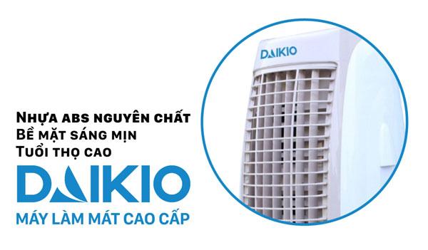Máy làm mát cao cấp Daikio DK-1500B với nhựa ABS nguyên chất