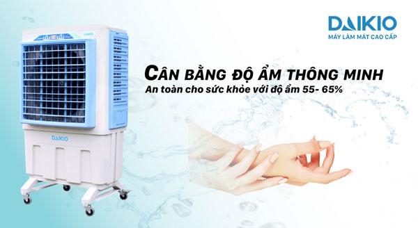 máy làm mát không khí daikio dk-5000c cân bằng độ ẩm