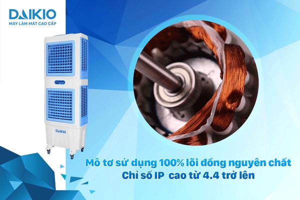 Daikio DKA-10000A bền bỉ với mô tơ 100% lõi đồng nguyên chất