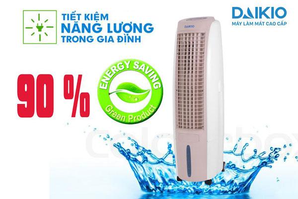 máy làm mát daikio tiết kiệm tuyệt đối 90% so với máy lạnh