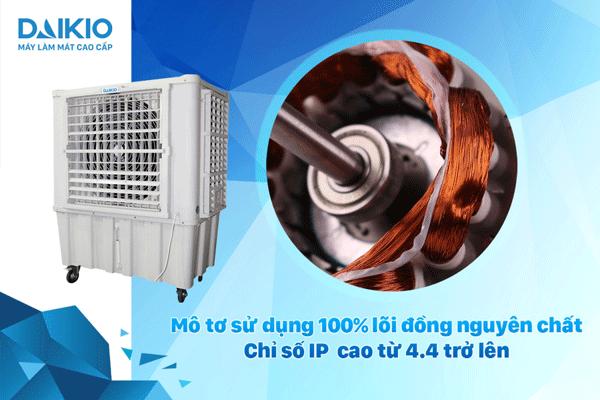 máy làm mát không khí công nghiệp daikio dk-15000a linh kiện bền bỉ chất lượng