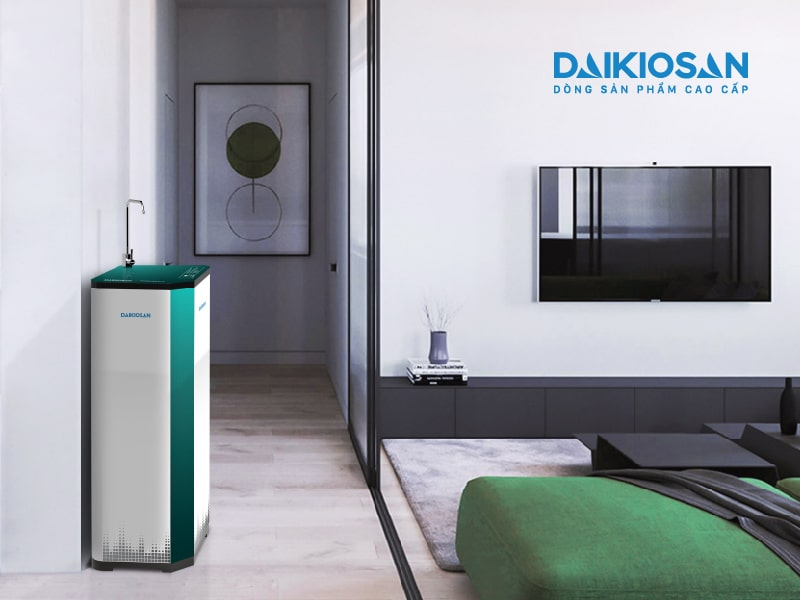 DSW-43010I mệnh mộc phòng khách - máy lọc nước daikiosan