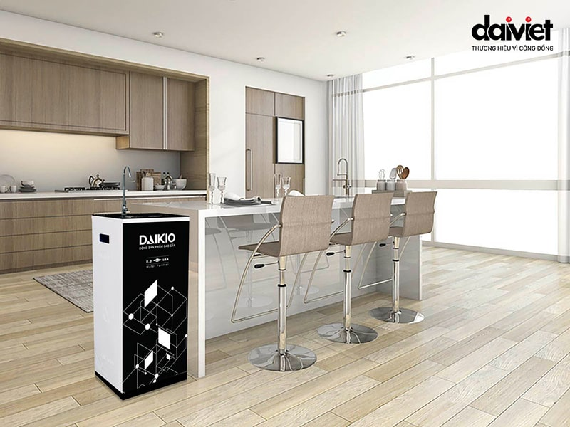 Daikio Dkw-00008h sửu dụng tốt cho nguồn nước máy