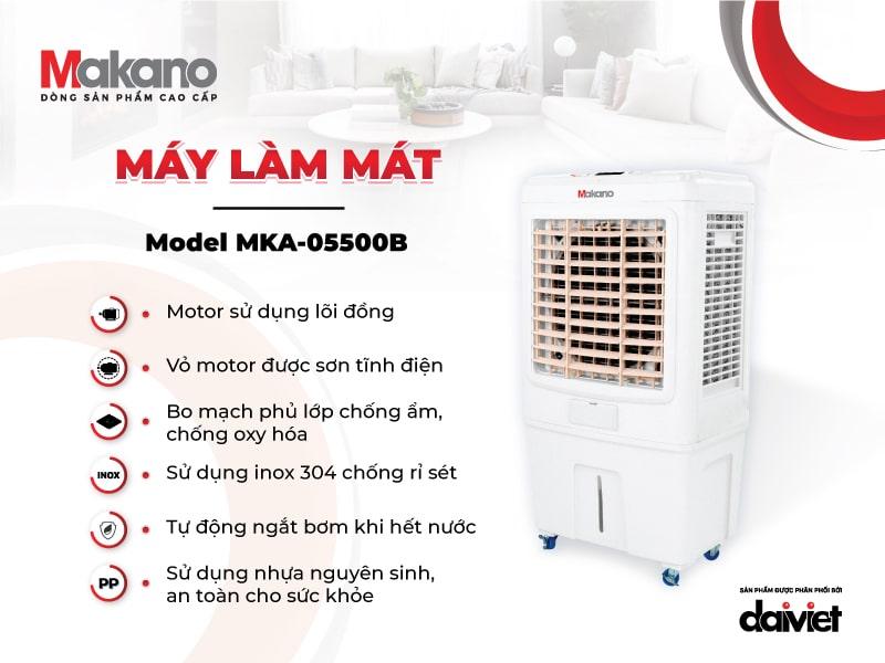 Sản phẩm Makano sở hữu sự chất lượng trong từng linh phụ kiện