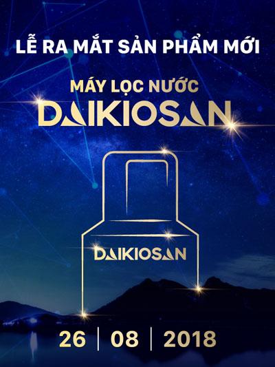Lễ ra mắt sản phẩm máy lọc nước Daikiosan sẽ được tổ chức hoành tráng tại Cocobay Đà Nẵng