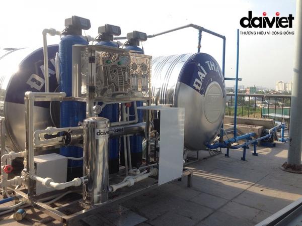 Hệ thống máy lọc nước công nghiệp Công ty TNHH Taiyo Plus Việt Nam