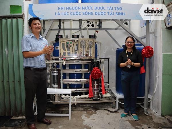 Hệ thống máy lọc nước công nghiệp ở Mả Lạng, Quận 1, TPHCM
